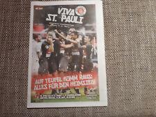 Programm FC St.Pauli - 1. FC Kaiserslautern 17/18