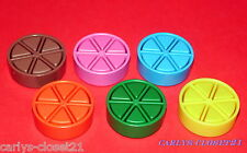 TRIVIAL PURSUIT * Full Set Of Pizza Pieces * Replacement Cheeses *