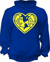 Club America Mexico Aguilas Camiseta Sweat Shirt Hoody Hoodie soccer football