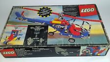 8844 Vintage LEGO Technic helicopter 100% complete with box &  instructions 1981