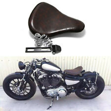 Retro Motorcycle Spring Solo Seat For Kawasaki Vulcan 500 750 800 900 88 Bobber
