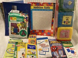 Lot Of Teacher Classroom Supplies Items Manipulatives Stickers Calendars Cards