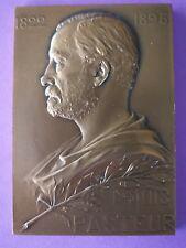 Médaille de table en bronze, Prudhomme / 1822-1895 Louis Pasteur
