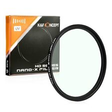 K&F Concept 77mm HD Ultra-Violet UV Filter Lens Protector for Canon Nikon Camera