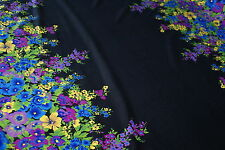 'SUMMER LUST FLORAL' Repeat Print Lycra Fabric Approx 1.95m x 1.6m - Swimwear