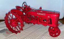Franklin Mint Historic 1941 Farmall Model H Steel Wheel Tractor 1:12 Diecast