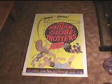 HARLEM GLOBE TROTTERS 1957 ORIG MOVIE POSTER BASKETBALL GREAT