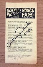 New ListingAnthony Daniels (C3Po) and Ray Harryhausen Autographs Sci-Fi Expo Program (1978)