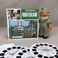 Disneyland FRONTIERLAND  Vintage GAF View Master Reels A176
