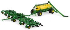 1/64 ERTL J0HN DEERE 1870 AIR SEEDER W/ C850 COMMODITY CART SET