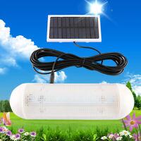 6V 4.5 inch Solar Powered Panel LED Light Security Night Light  For Home Garden
