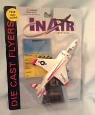 Diecast Harrier Airplane stand and card 1:100 3+ In Air Boys Girls 2005  $9.99