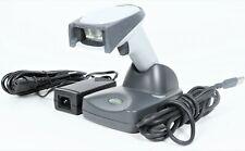 Honeywell 4820 HWK-4820 Wireless Handheld 2D Barcode Scanner w/ Cradle & Adapter