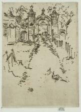 Photo:Gateway,Chartreux,c 1800,James McNeill Whistler 3939