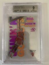 1998 Skybox E-X Century Dunk 'N Go-Nuts Michael Jordan #15DG Not GOLD Clear