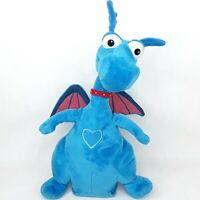Doc Mcstuffins Dragon Stuffie plush soft toy doll Blue Talking talks