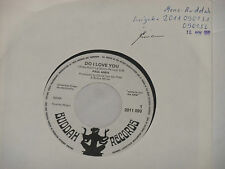 "Paul ANKA-Do I Love You - 7"" 45 Buddah PROMO archivio MINT"