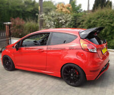 For Ford Fiesta ST Facelift RS Style FRP Fibre Glass Rear Spoiler Bodykits