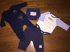 Lot of 4 Circo Boys Baby Toddler Size 3 6 Months Daddy'S Tool Helper Dump Truck