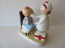 1981 ALDON Joan Berg Victor Porcelain NURSE Figurine - Tomorrow is a better day