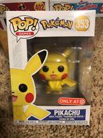 Pokemon Pikachu Funko Pop! Target Exclusive #353 *IN HAND!!