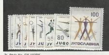 Yugoslavia, Postage Stamp, #547-554 Mint LH, 1959 Sports