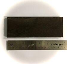 Ebony Wood Blank 165 x 60 x 6.35mm