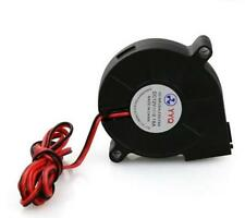 Blow Radial Cooling Fan Hotend / Extruder For 3D Printer 12V DC 50mm ^