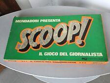 1967#VINTAGE EG GIOCO DA TAVOLO SCOOP! Il Gioco Del Giornalista#