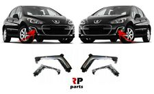 FOR PEUGEOT 308 11 - 14 NEW FRONT BUMPER DRL COVER CHROME PAIR SET