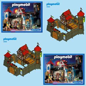 Playmobil * VINTAGE CASTLE 3450 3666 3667 3888 7144 * SPARE PARTS SERVICE *