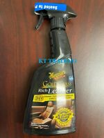 Meguiar's G10916 Gold Class Rich Leather Cleaner Conditioner UV Protectant Spray