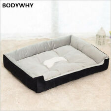 Full Cotton Dog Bed Sofa Lounger Cat House Product For Small medium Large