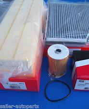 Filterpaket Öl-, Luft- und Aktivkohlefilter -Mapco 68828 - VAG 1.6 TDI + 2.0 TDI