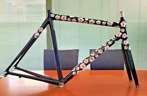 rare KLEIN Q PRO CARBON HAWAIIAN LEI limited road frameset made in USA EXCELLENT
