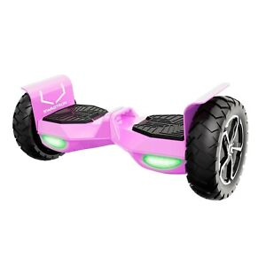 Swagtron Hoverboard Bluetooth Self Balancing Electric Scooter Off-Road Outlaw T6
