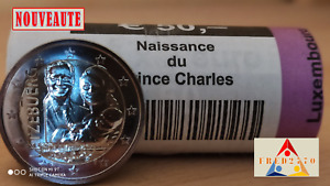 2 Euro Commémorative Luxembourg 2020 - Naissance Princière Relief UNC NEUVE