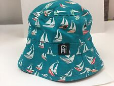 City Hunter USA Bucket Hat  Sailboat Multicolor One Size Fits All