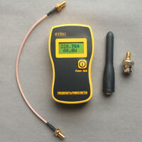 GY561 RF digital power meter & frequency counter for 2-Way Radio w/ SMA-F cable