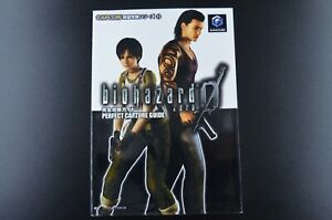 Biohazard Resident Evil 0 Guide Book Japanese Nintendo GameCube GC