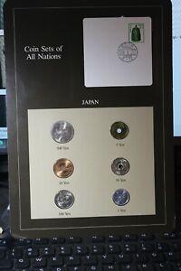 Coins Of All Nations JAPAN~1~5~10~50~100~500 Yen Gem Unc