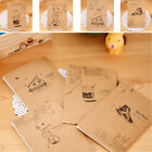 Retro Handmade Journal Memo Dream Notebook Paper Notepad Blank Mini Pocket Diary