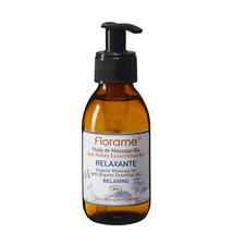 FLORAME BIO - Huile de Massage Relaxante - Haut de gamme - Neuf