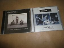 3 CD AGENT 22 S/T & First Witness Belly Up Live + TOM GREISGRABER Chapman Stick