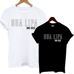 Dua Lipa T Shirt One Kiss Music Festival Concert Tour Tumblr Blogger Print Cool