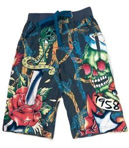 Ed Hardy Men's Sleepwear Shorts Size XS (24-26) MSRP: $99.00
