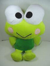 """Sanrio 15"""" Keroppi Frog Plush NWT Fiesta Hello Kitty"""