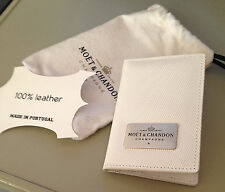 Moet Chandon Ice Imperial White Credit Card Case in Moet Dustbag and Boxed New