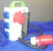 Stromverteiler  3xSchuko und 1xCEE 16A
