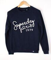 Superdry Damen Freizeit Pullover Sweatshirt GRÖSSE XS ASZ1131